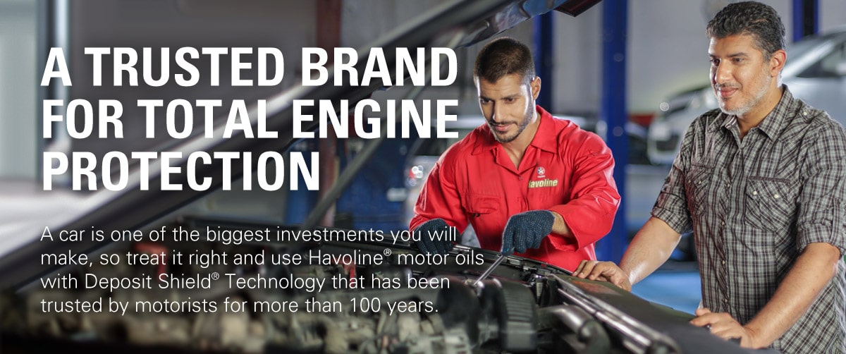 A trusted brand for total engine protection